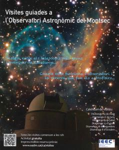 Visita guiada gratuïta a l'observatori astronòmic del Montsec